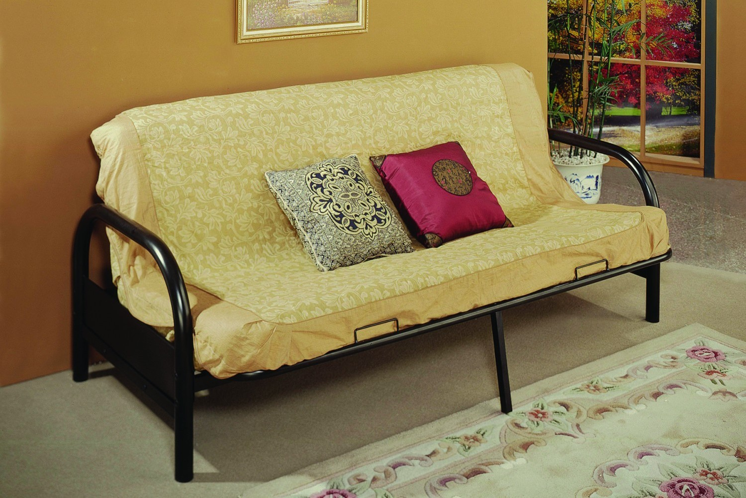 """4506-3BK Bi-Fold With 29"""" Curved Arms"""