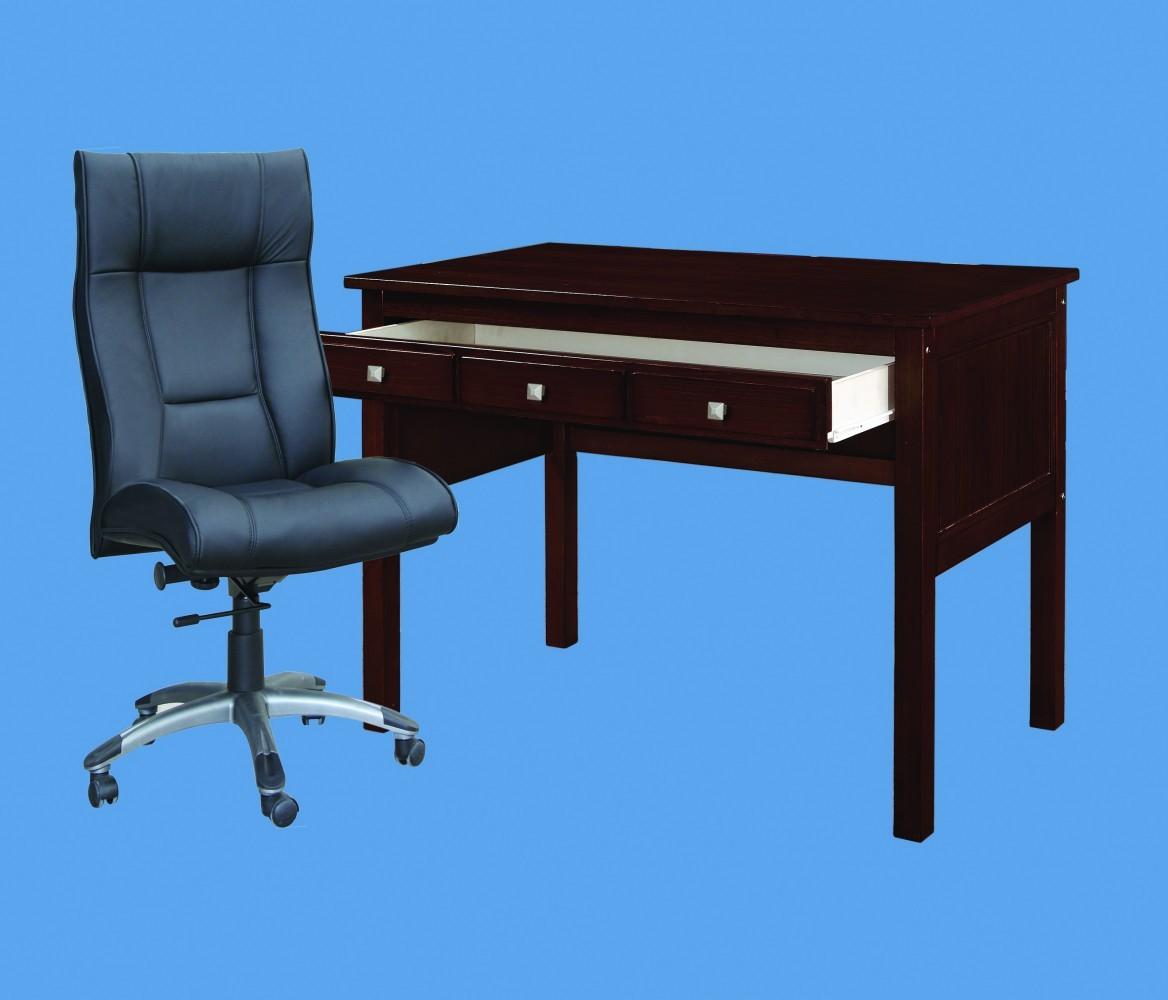115-CP desk Cappuccino