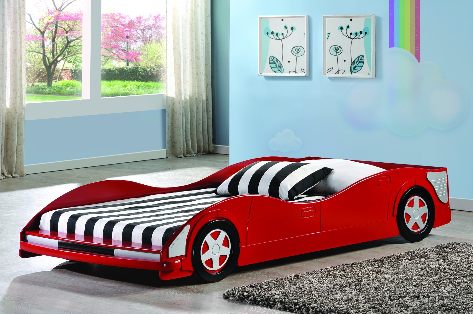 Race Car Beds