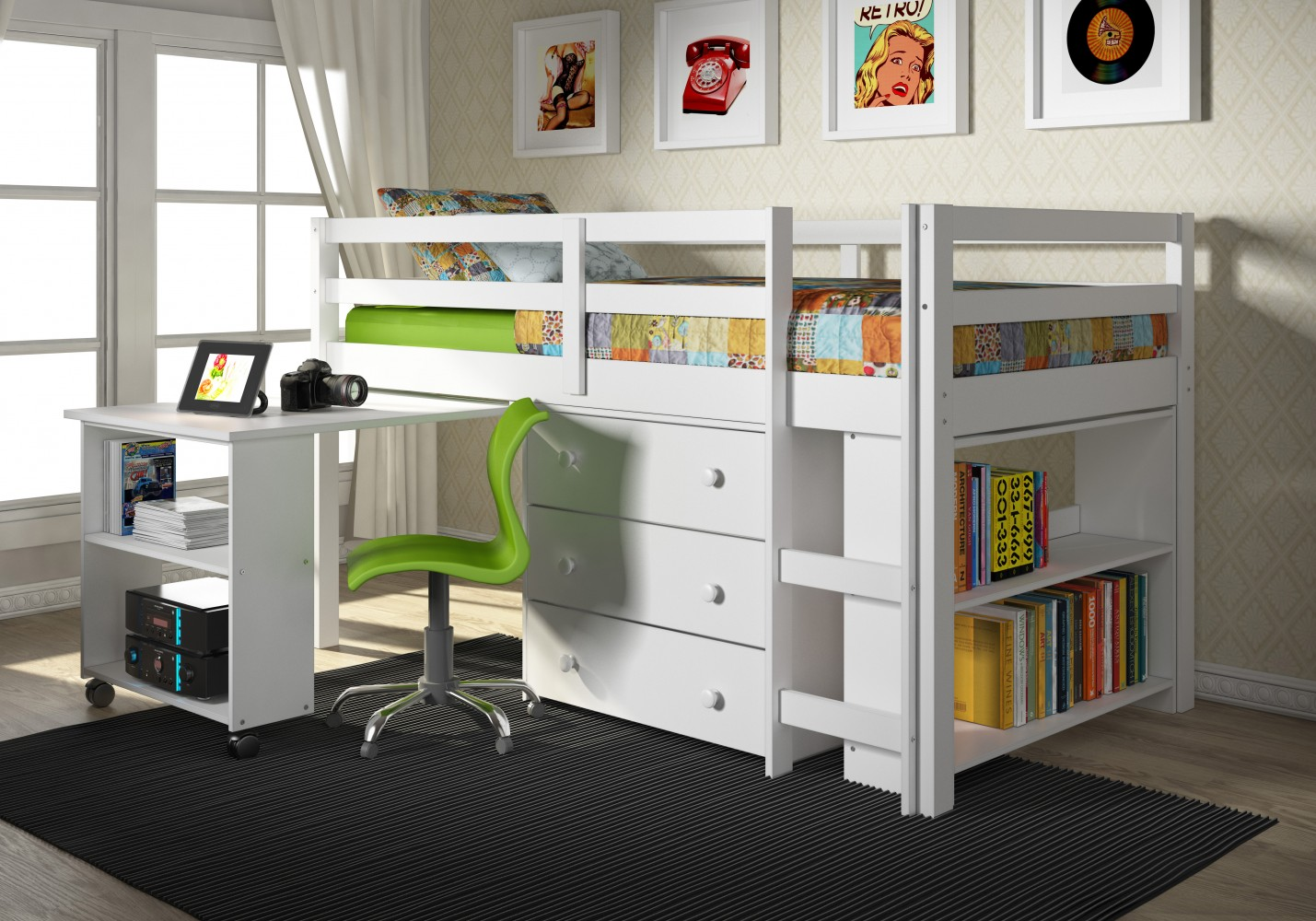 Loft Beds Donco Trading Co